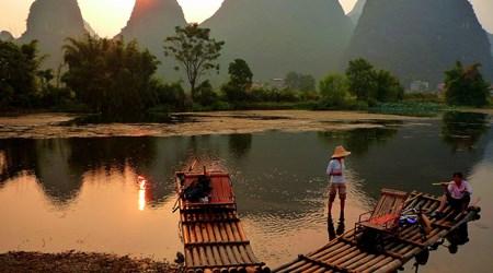 Drifting on Yulong River