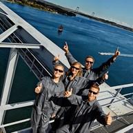Take a walk on a bridge 60 meters high