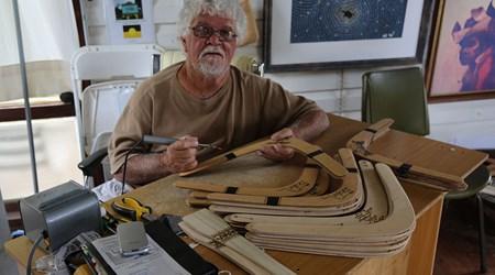 Laddie Timbery Bidjigal Aboriginal Art and Crafts