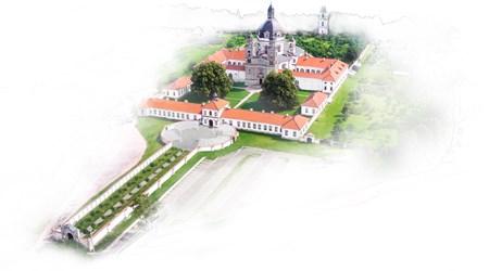 The ensemble of Pažaislis buildings and Camaldolli abbey