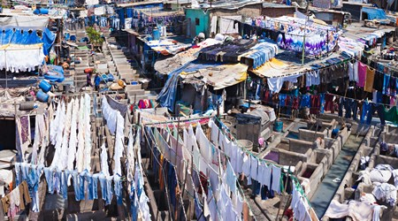 Dhobi Ghat - The world's largest outdoor laundromat