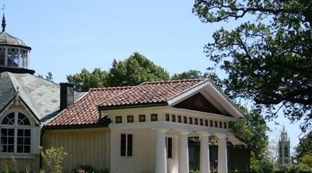 Admiral af Chapman´s estate at Skärva - a part of the World Heritage