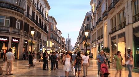 Calle Larios and Calle Nueva