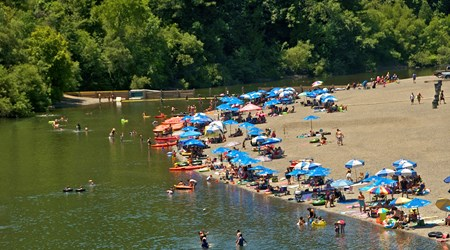 Johnson's Beach on the Russian River