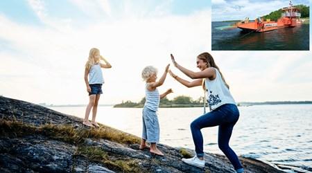 Visit the island Ytterön/Hästholmen