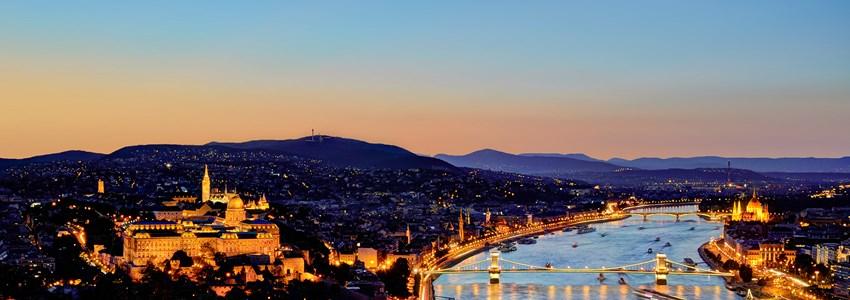 Budapest Panorama Night