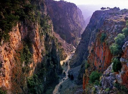 Trekking at Aradena Gorge