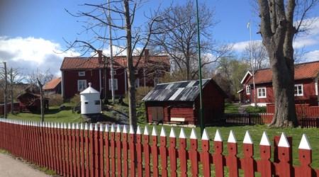 Öregrunds Homestead and maritime museum.