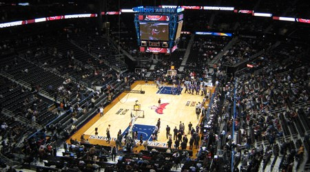 Atlanta Hawks and Atlanta Dream and Philips Arena