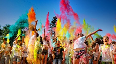 11-12 August 2018: Festival of Colours