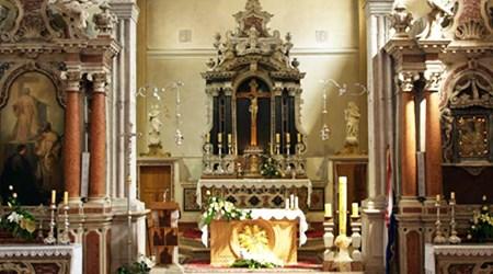 The Parish church of St. Cross