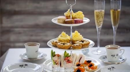 Afternoon Tea at Hotel Café Royal