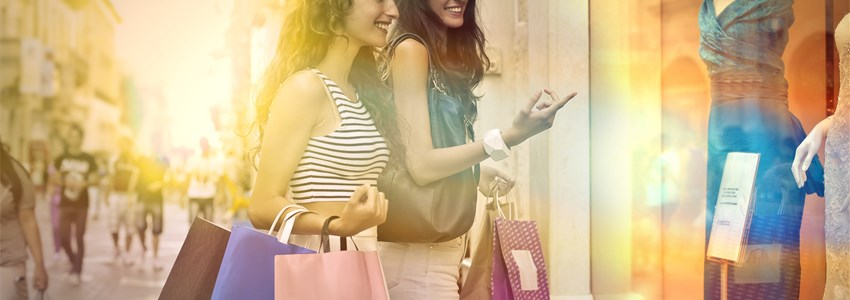 shopping time with friend