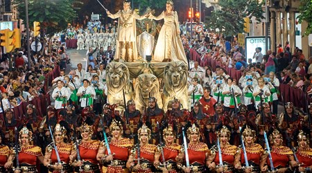 THE FESTIVAL OF THE RECONQUEST OF MOORS AND CHRISTIANS