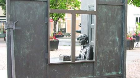 The Statue of Astrid Lindgren