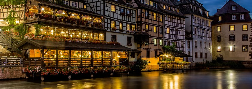 Night Strasbourg