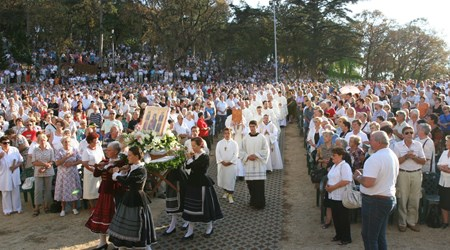 Pilgrimage on Assumption of Mary Holiday