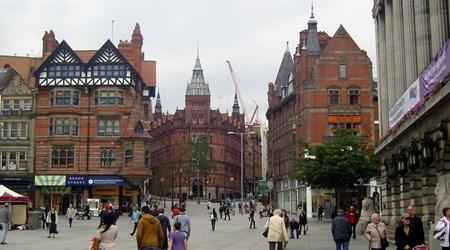 Area around Old Market Square