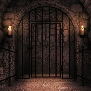 Prison Castle Backdrop / BackgroundStore/Shutterstock.com