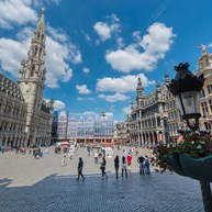 The Grand-Place in Brussels