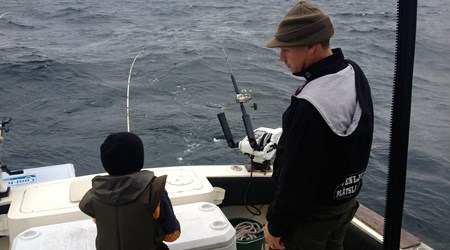 World class Salmon fishing