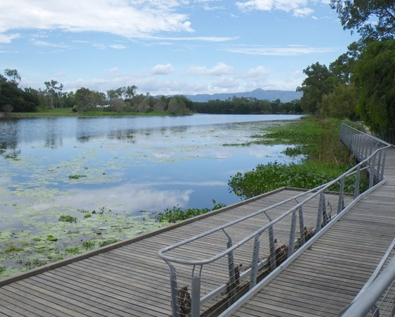 Riverway lagoons and Ross River