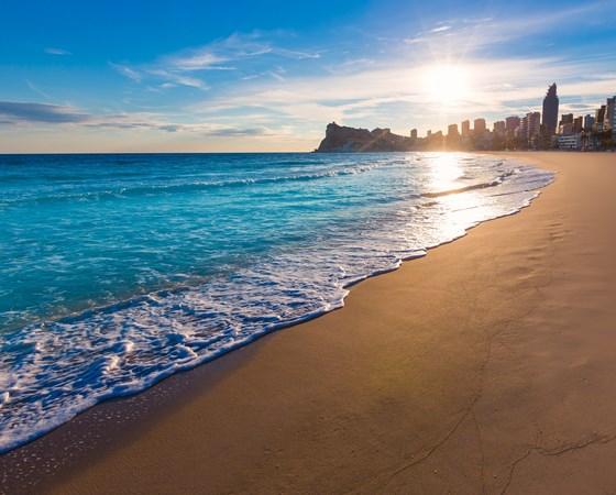 Atardecer Playa de Poniente