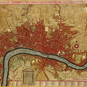 Old map of London / steve estvanik/Shutterstock.com
