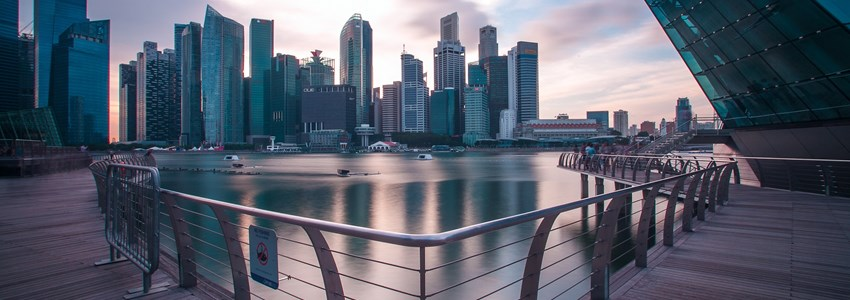 cbd, marinarea, singapore, building, sky, long exposure, smooth, country, environment, landscape,