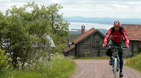 Biking in the Lake Siljan Area