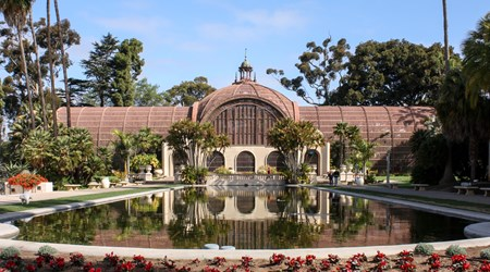 Botanical Building and Lily Pond
