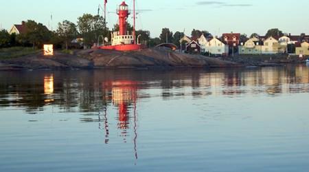 The lightship Västra banken