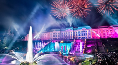 15-16 September 2018: The Official Closing of Fountains at Peterhof