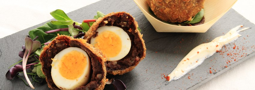 scotch manchester eggs canape