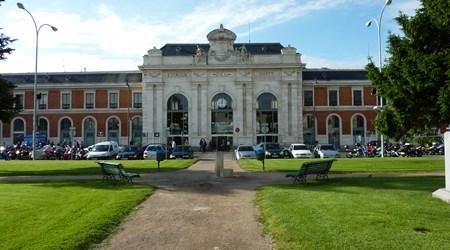 Estacion de tren del Campo Grande de Valladolid