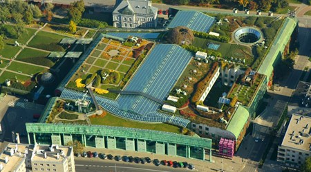 The University of Warsaw Library Garden
