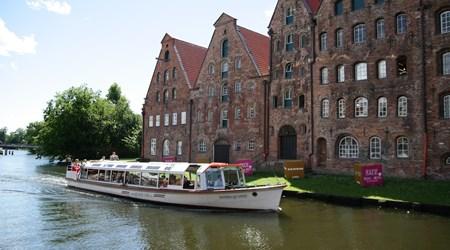Lübeck by boat