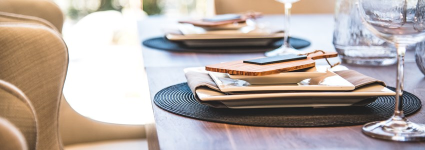 Bright, Stylish, Contemporary Dining Room
