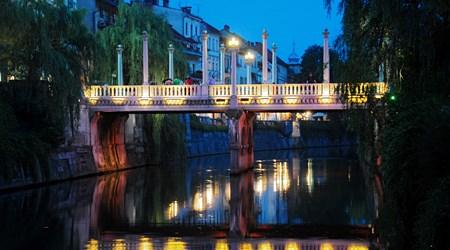 The Ljubljanica and the Bridges