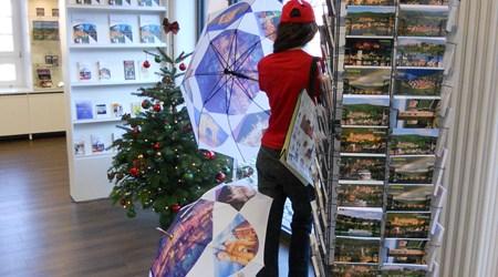 Souvenir Shop and Tourist Information at the Neckarmünzplatz