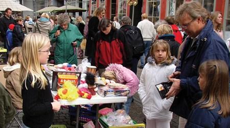 Denmark's biggest children's flea market