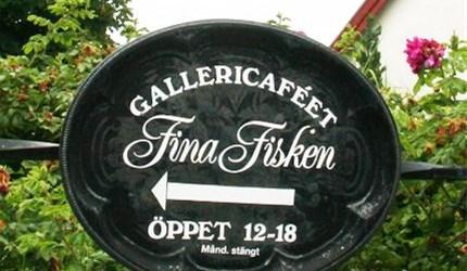 Gallery café Fina Fisken