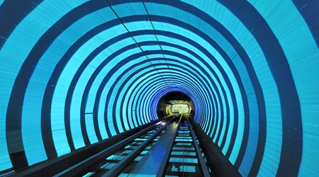 Bund Tourist Tunnel