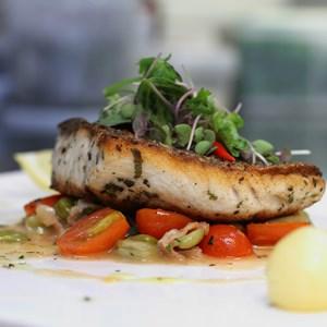 grilled sea bass / Somkiat Insawa/Shutterstock