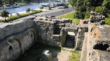 Aosehus castle ruin