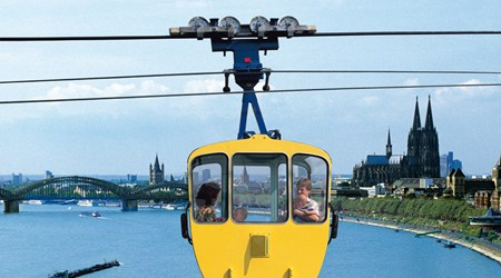 Enjoy Cologne from above?