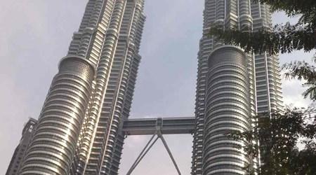 Petronas Twin Tower and KLCC