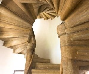 Burg & Double Spiral Staircase