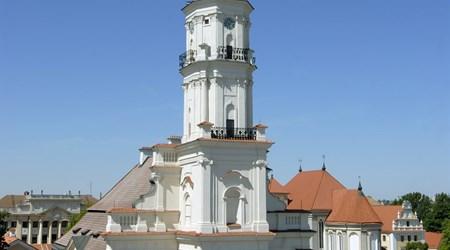 Town Hall and Town Hall Square – (Rotušės Aikštė)