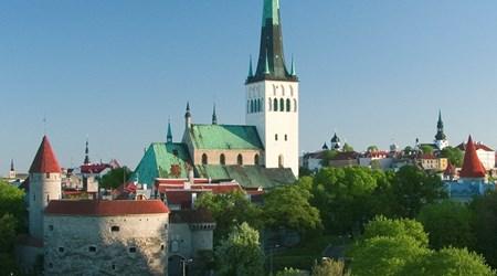 St. Olav's Church and tower